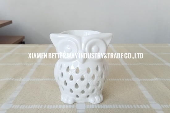 decorative owl oil burner
